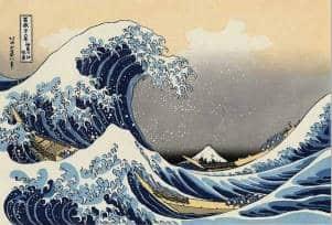 History of ukiyo-e prints - The Great Wave