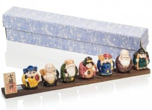 Seven Lucky Gods with Gift Box