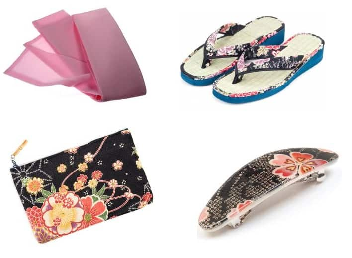 Yukata accessories