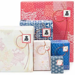 Japanese style gift wrapping