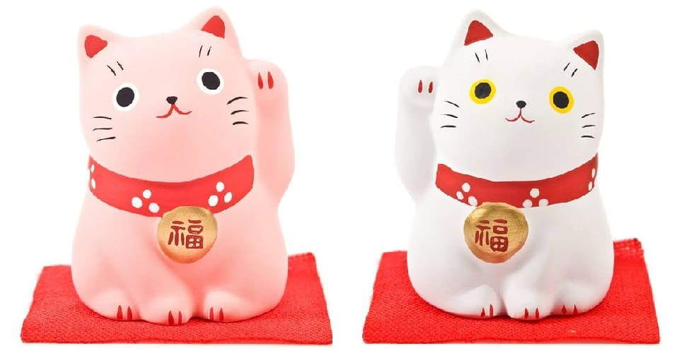 Japanese lucky cats
