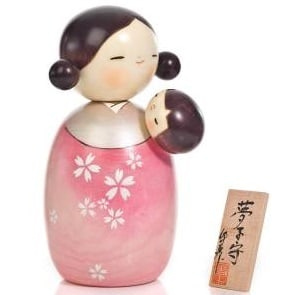Mothers Day kokeshi doll