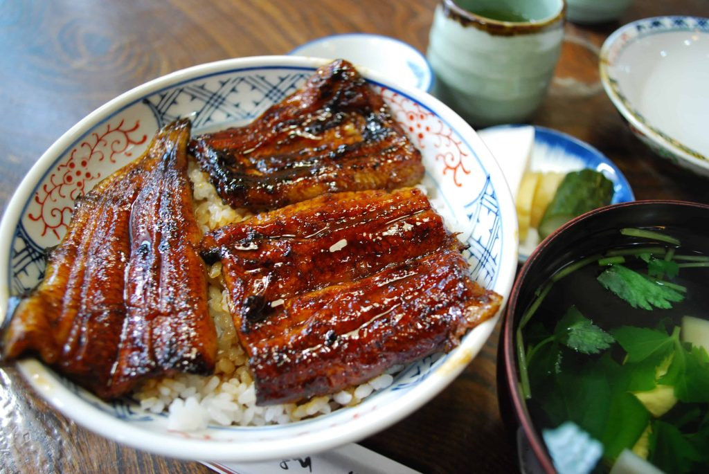 Source: Eel kabayaki,Una-don,Katori-city,Japan}} {{ja|1=鰻丼、うなぎ蒲焼。うなぎ山田。香取市。}} |Source=own work |Author=katorisi |Date=4/7/2009 |Permission=see below |other_versions= }}