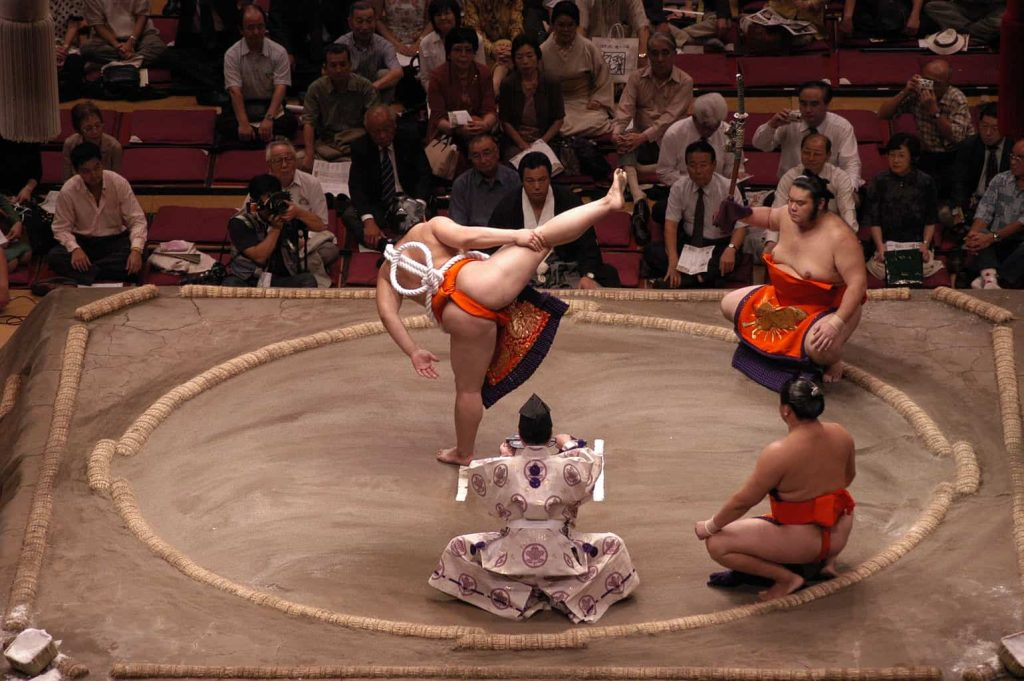 sumo japanese traditions