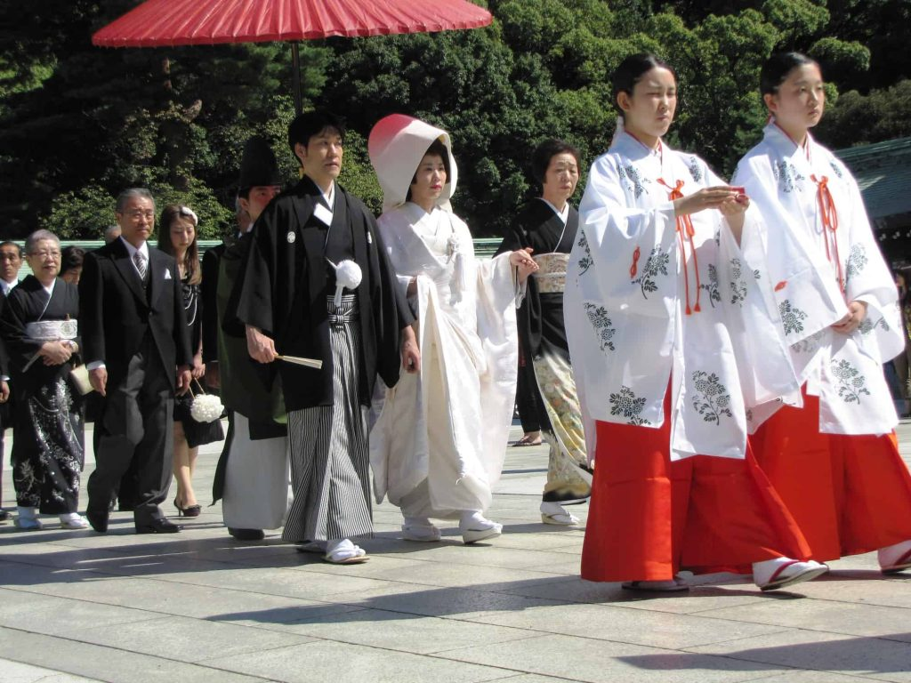 Japanese marriage customs