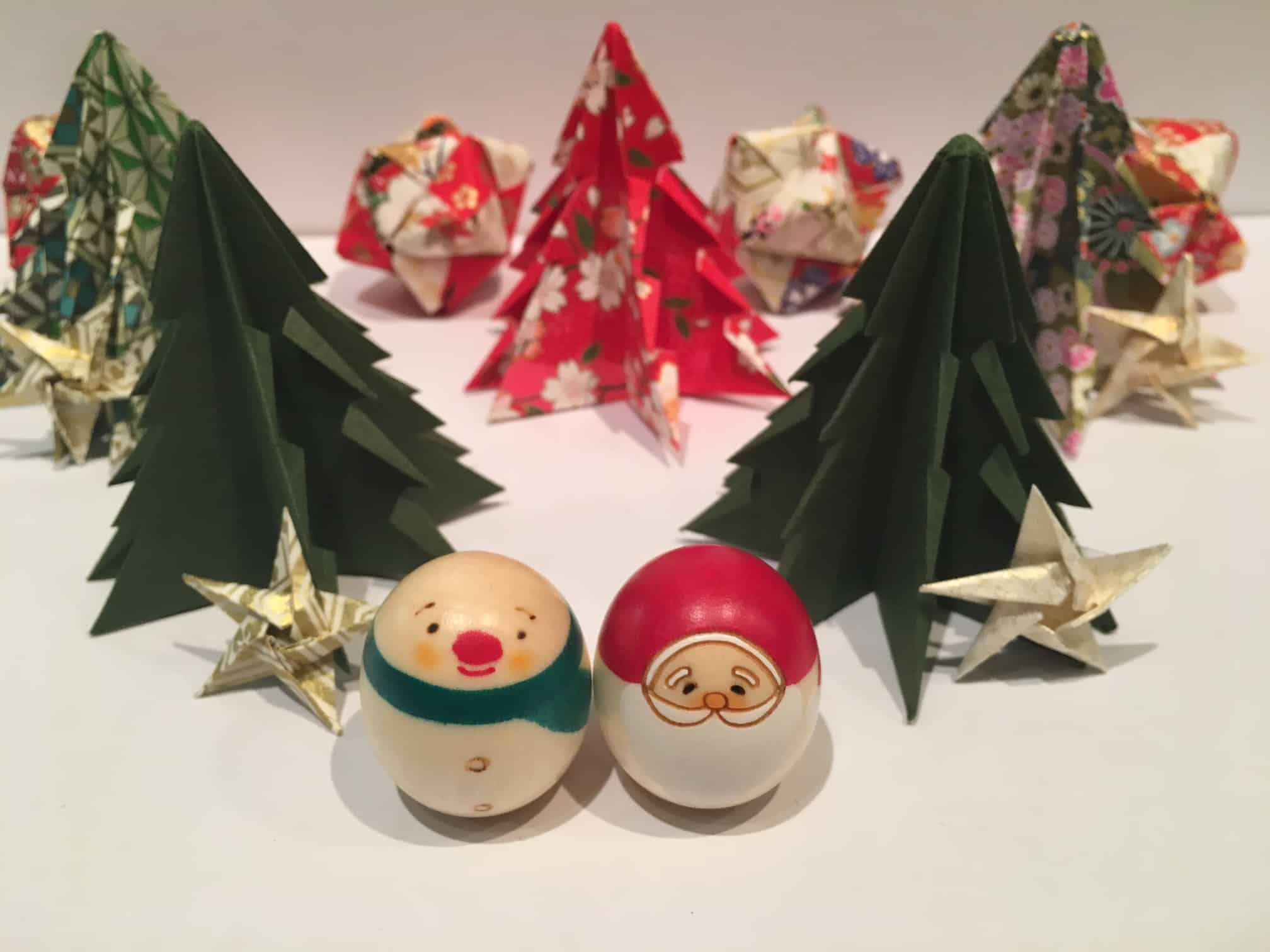 Japanese Christmas Tree Ornaments.Christmas Diy How To Make Origami Christmas Decorations