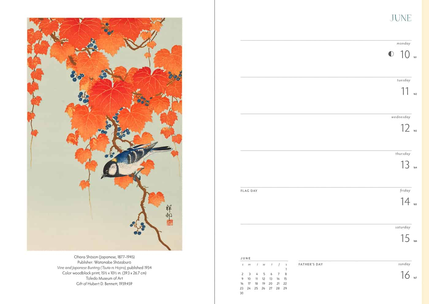 Gifts for Japan lovers - Japanese calendar