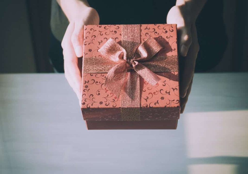 gift giving is an important Japanese custom.
