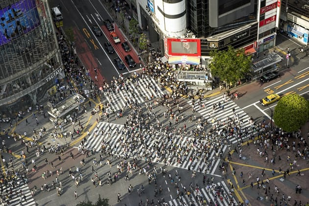 Shibuya Crossing is one of our top places in Japan