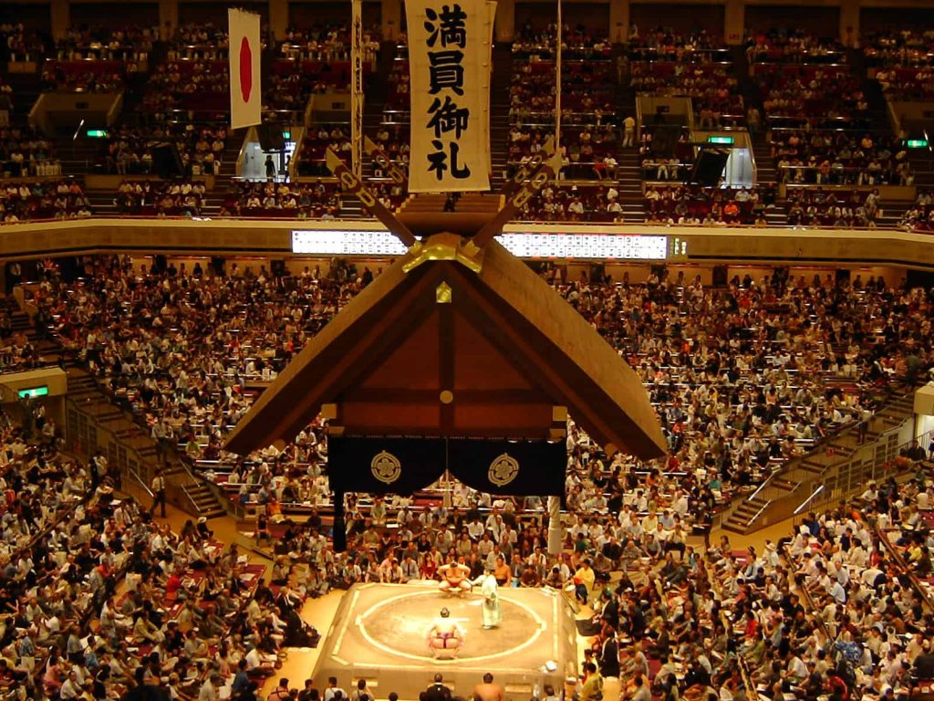 Seeing a sumo tournament is one of our top 5 things to do in Japan