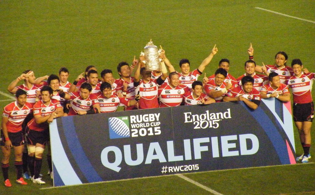 Japanese Rugby qualifying for the 2015 World Cup