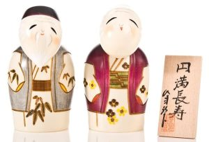 Couples Kokeshi Dolls