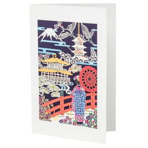 Traditional Japanese Greetings Card