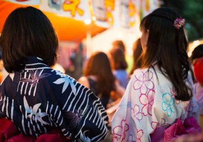 yukata festival japanese summer clothing