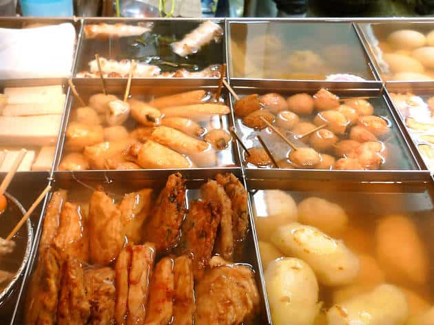 konbini oden selection