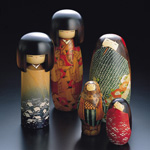 What are kokeshi dolls?