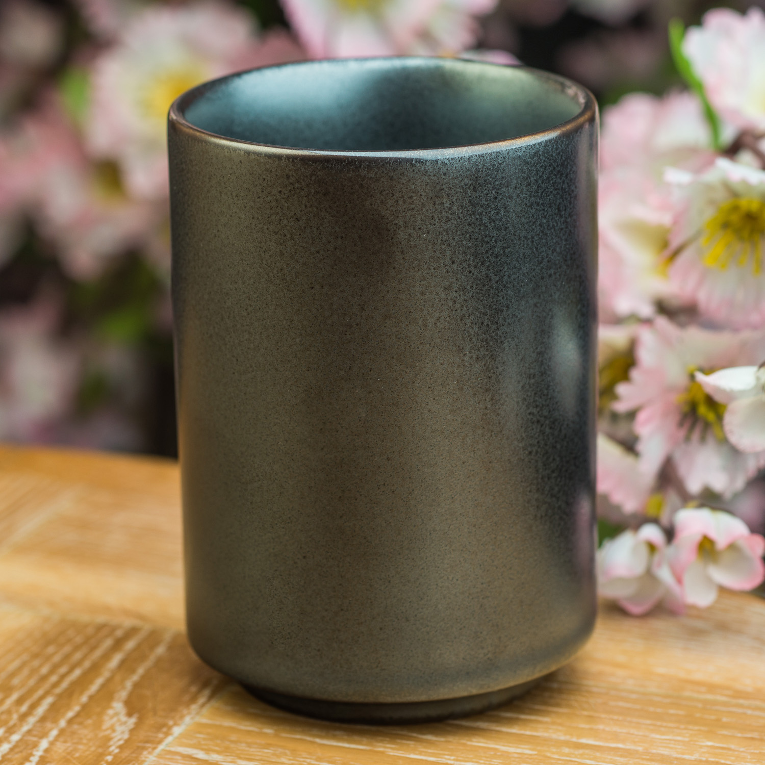 Sumi Grey Japanese Teacup Japanese Cups And Mugs