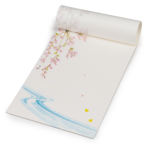 Blossom Traditional Japanese Writing Set open