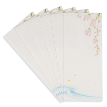 Blossom Traditional Japanese Writing Set envelopes