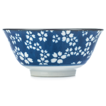 Sakura Traditional Japanese Tayou Bowl side