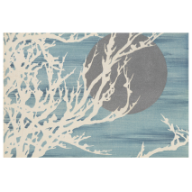 Moon over Snowy Branches