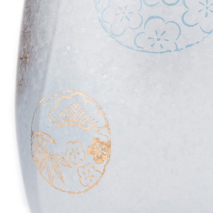 Pair of Marumon Premium Japanese Tumbler Glasses detail