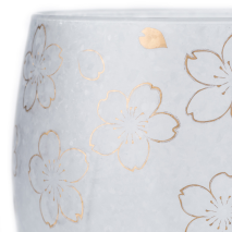 Pair of Sakura Premium Japanese Tumblers detail