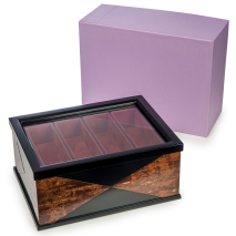 Premium Handmade Japanese Wooden Jewellery Box and gift box