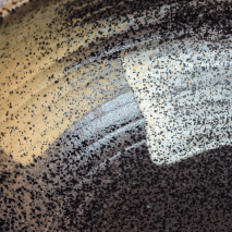 Sapporo Ceramic Japanese Soup Bowl detail