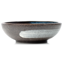 Sapporo Ceramic Japanese Soup Bowl side