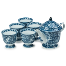 Sarasa Traditional Japanese Tea Pot Set