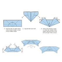 Amazing Origami Japanese Folding Paper Book instructions