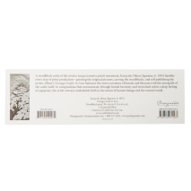 Tsuruga Castle Japanese Bookmark back