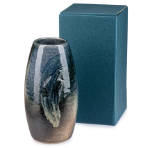 Bidro Traditional Japanese Ikebana Vase and gift box