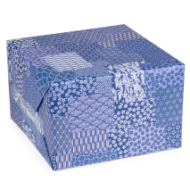 Blue Crane Japanese Wrapping Paper box