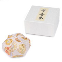 White Floral Traditional Japanese Jewellery Box and gift box