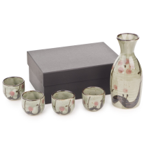 Ume Japanese Sake Set and gift box
