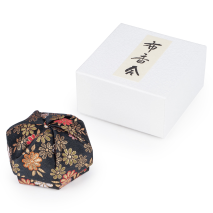 Black Floral Traditional Japanese Jewellery Box and gift box
