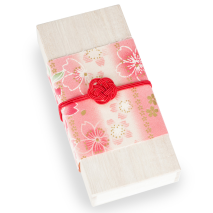 Cherry Blossom Japanese Incense Set closed