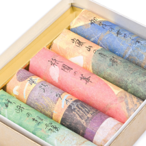 Japanese Incense Gift Box Set close up