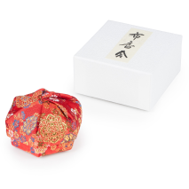 Red Floral Traditional Japanese Jewellery Box and gift box