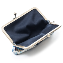 The Great Wave Japanese Coin Purse open