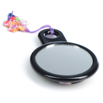 Black Japanese Compact Mirror only