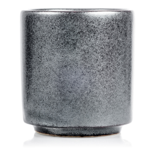 Sumi Grey Japanese Sake Cup side