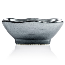 Sumi Grey Japanese Sauce Dish side