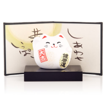 Small Feng Shui Happiness Lucky Cat and display screen