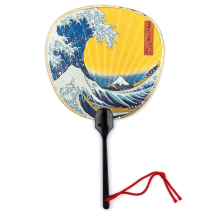 The Great Wave Japanese Fan Card