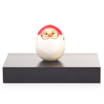 Santa Claus Miniature Kokeshi Doll Display Base