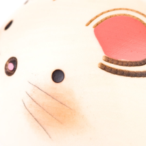 Small Year of the Mouse Birthday Kokeshi Doll Close Up