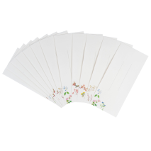 Garden Flowers Japanese Letter Set envelopes